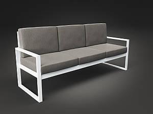 Тримісний диван Tenero Годину Пік м'які сидіння на металлокаркасе для саду для кафе