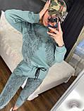 Женский летний  брендовый спортивный костюм (Турция); Размеры:44-46;46-48;48-50, 4 цвета, фото 6