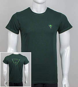 Футболка мужская GUESS (0910м), Т. Зеленый