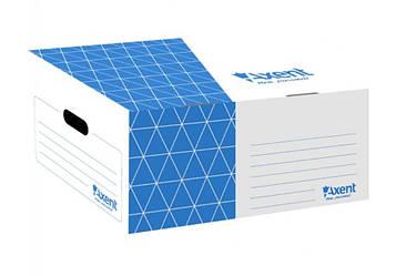 Бокс архивный 560мм AXENT 1734-02 синий