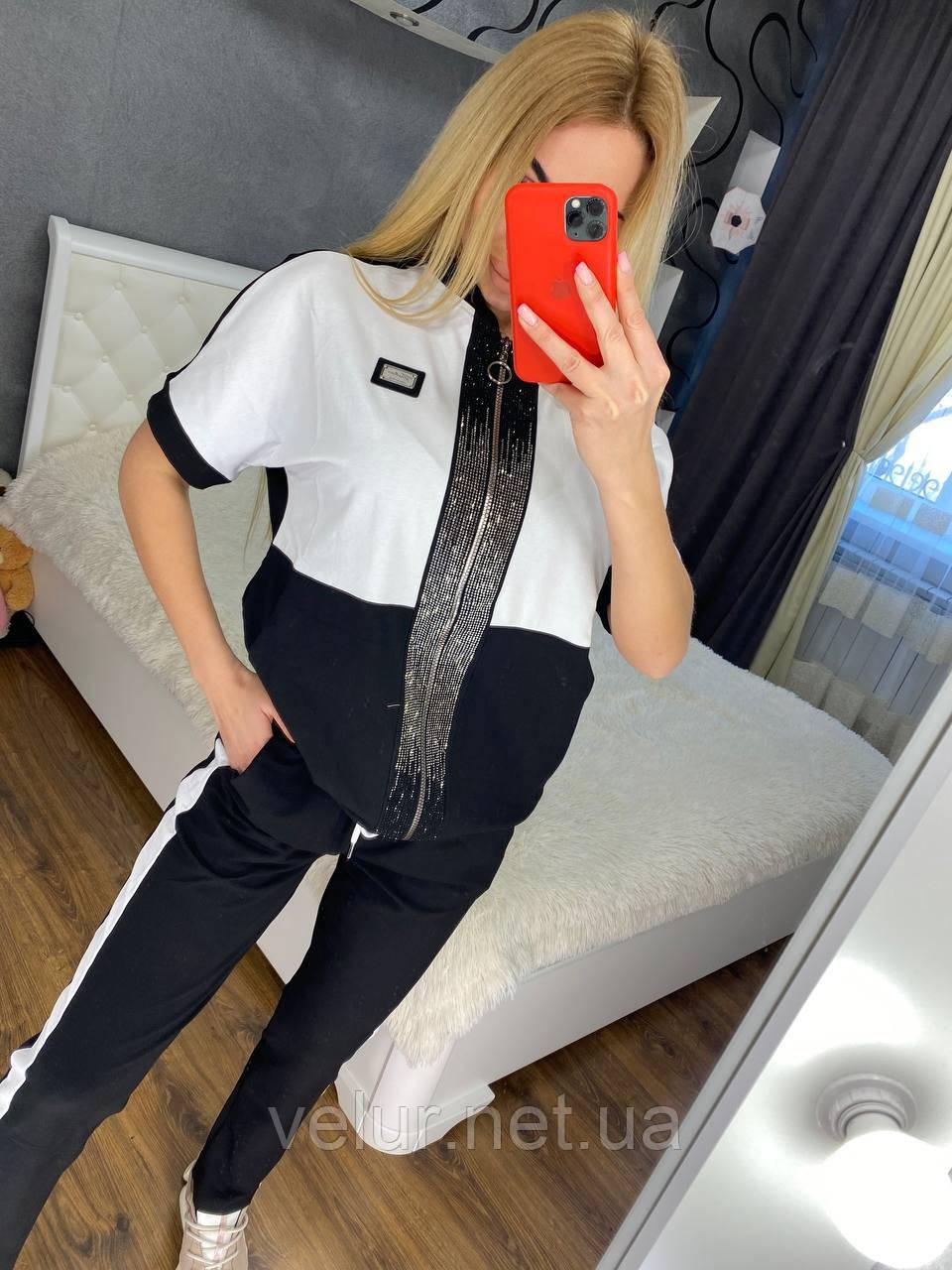 Жіночий літній костюм (Туреччина); розмір С,М,Л,ХЛ повномірні