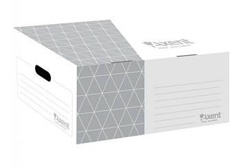 Бокс архивный 560мм AXENT 1734-03 серый