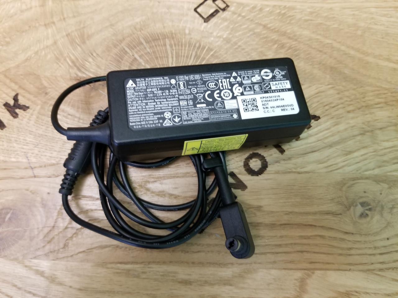 Блок живлення для ноутбука Acer 45W 5.5*1.7mm 19V 2.37A Delta Electronics (ADP-45FE F)
