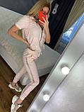 Жіночий літній костюм *Cignet* (Туреччина); розмір С,М,Л,ХЛ повномірні, 4 кольори, фото 4
