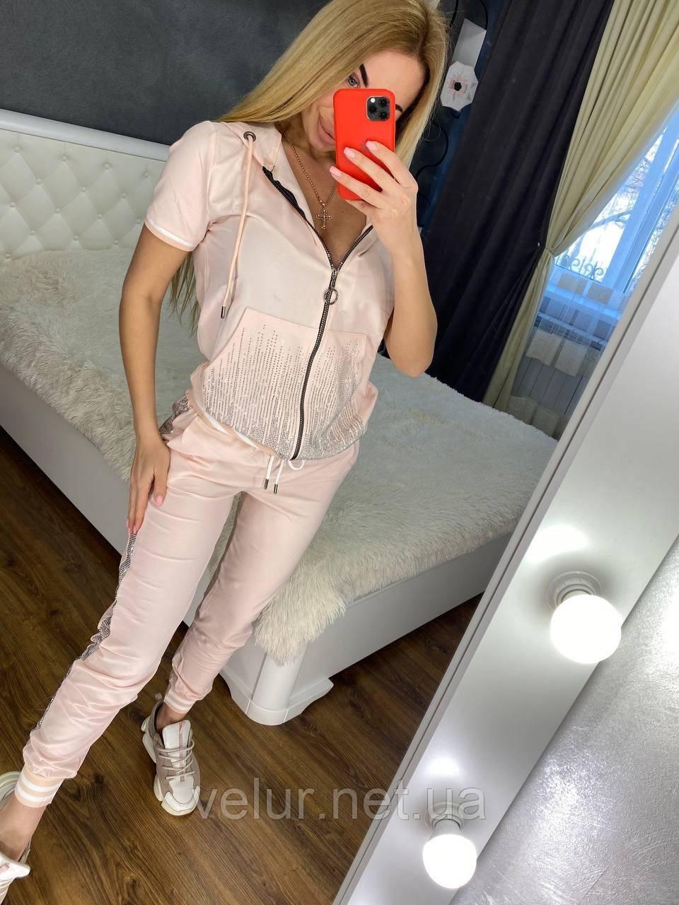 Жіночий літній костюм *Cignet* (Туреччина); розмір С,М,Л,ХЛ повномірні, 4 кольори