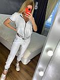 Жіночий літній костюм *Cignet* (Туреччина); розмір С,М,Л,ХЛ повномірні, 4 кольори, фото 9