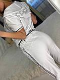 Жіночий літній костюм *Cignet* (Туреччина); розмір С,М,Л,ХЛ повномірні, 4 кольори, фото 7