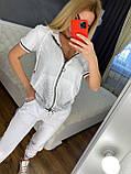 Жіночий літній костюм (Туреччина); розмір С,М,Л,ХЛ повномірні, 4 кольори, фото 8