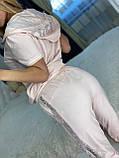 Жіночий літній костюм (Туреччина); розмір С,М,Л,ХЛ повномірні, 4 кольори, фото 10