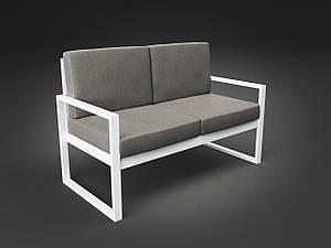 Двомісний диван Tenero Годину-Пік м'які сидіння на металлокаркасе для саду для кафе
