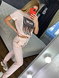 Женский летний костюм  (Турция); разм С,М,Л,ХЛ полномерные, 4 цвета, фото 5