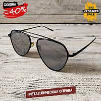 Мужские солнцезащитные очки, модные черные очки авиатор от солнца Polaroid, Aviator капли, качественные очки
