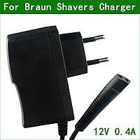 Зарядний пристрій, блок живлення (адаптер) 12V для бритви Braun Series 1, Series 3, Series 5, CruZer