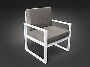Крісло Tenero Годину-Пік м'які сидіння на металлокаркасе для кафе на терасі