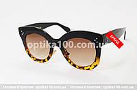 Солнцезащитные большие очки ДЛЯ ЗРЕНИЯ БРЕНДОВЫЕ, фото 1