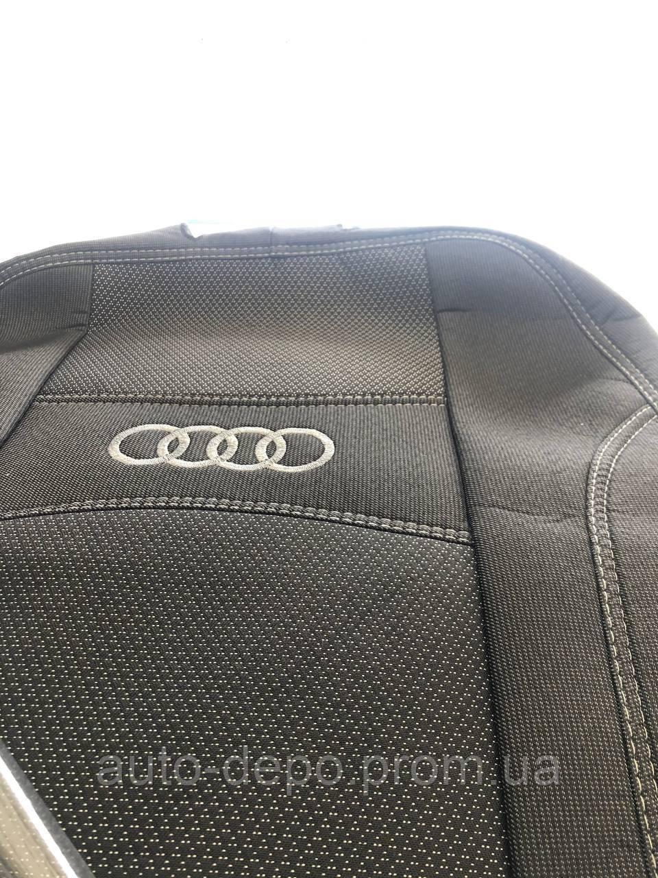 Чехлы на сиденья Audi A6 (С5) 1997-2004 Авточехлы Ауди А6 полный комплект Nika