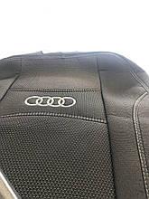 Чохли на сидіння Audi A6 (С5) 1997-2004 Авточохли Ауді А6 повний комплект Nika