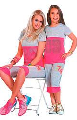 Детский комплект-двойка: бриджи и майка 09 Suxe (Турция) sks20002