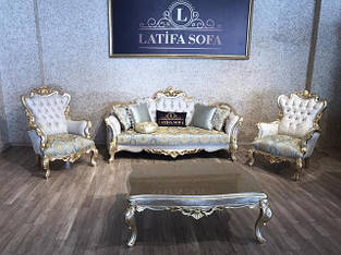 М'які меблі в стилі Бароко