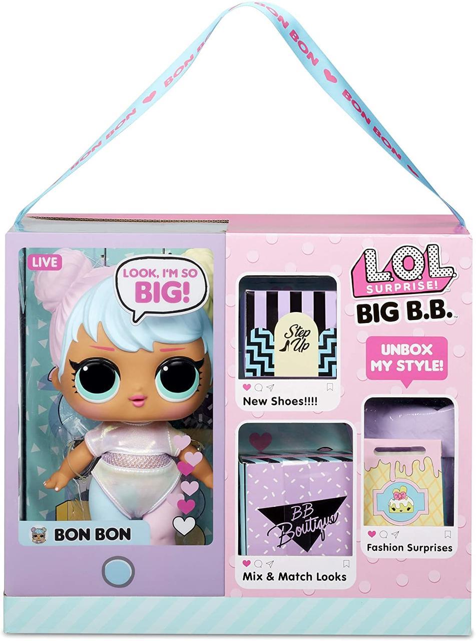 Лялька лол велика маленька Принцеса Бон Бон LOL Surprise Big Baby Bon Bon бонбон оригінал