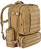 Тактический мощный мужской рюкзак 60 л. Defcon 5 Modular 60, 922260 хаки