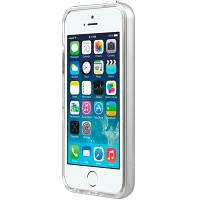 Чехол для моб. телефона Avatti Mela Double Bumper iPhone 5/5S silver (153372)