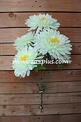 Искусственные цветы - Хризантема букет, 52 см