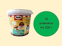Цукрова паста-мастика 100 г, зелена
