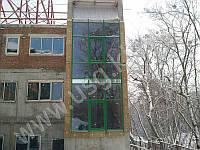 Алюминиевые фасады Profilco