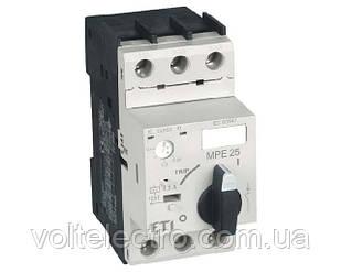 Автоматический выключатель для защиты двигателей MPE 25-16  7.55kW 100A