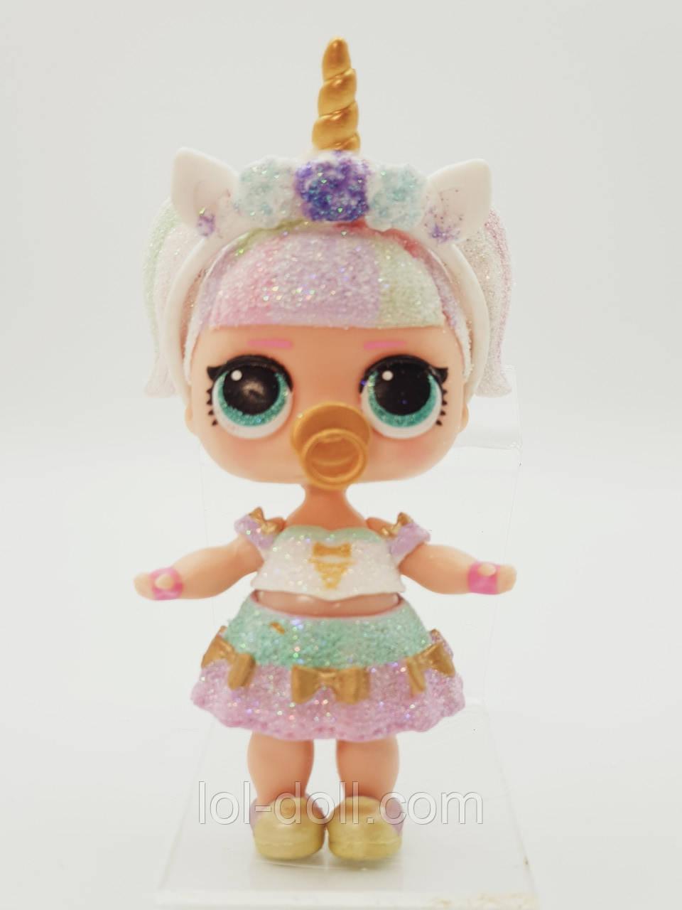 Кукла LOL Surprise 3 Серия Unocorn - Единорожка Лол Сюрприз Без Шара Оригинал