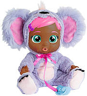 Интерактивная Кукла Край беби Плачущий младенец Коала IMC Toys Cry Babies Koali Gets Sick & Feels Better Doll