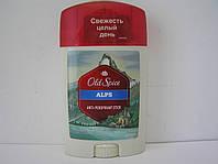 Tвердый мужской дезодорант антиперспирант Old Spice ALPS 60 мл. (Олдспайс Альпы)