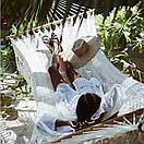 Бавовняна пляжна сорочка жіноча вільного крою з мереживом (р. S-L) 6825727, фото 6