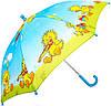 Зонт-трость облегченный детский полуавтомат AIRTON (АЭРТОН) Z1651-12 Утята