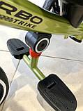 Трехколесный велосипед Turbotrike М 5447 складной и легкий хаки, фото 2