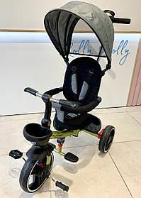 Трехколесный велосипед Turbotrike М 5447 складной и легкий хаки