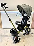 Трехколесный велосипед Turbotrike М 5447 складной и легкий хаки, фото 3