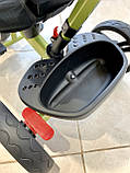 Трехколесный велосипед Turbotrike М 5447 складной и легкий хаки, фото 6