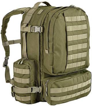 Штурмовой качественный мужской рюкзак 60 л. Defcon 5 Modular 60, 922262 зеленый