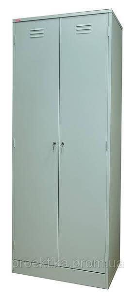 Шкаф гардеробный двухсекционный ШРМ-АК