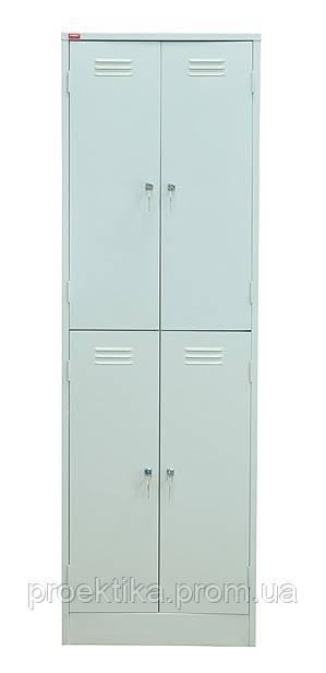 Шкаф гардеробный двухсекционный ШРМ-24