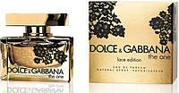 Женская парфюмированная вода Dolce&Gabbana The One Lace Edition (Зе Ван Лас Эдишен) 75 мл