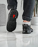 Мужские кроссовки на протекторной подошве (Кз-16зл), фото 3