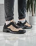 Мужские кроссовки на протекторной подошве (Кз-16зл), фото 4