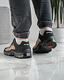 Мужские кроссовки на протекторной подошве (Кз-16зл), фото 5