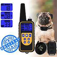 Цифровой ошейник для дрессировки собак PT090, 800 м, водонепроницаемый