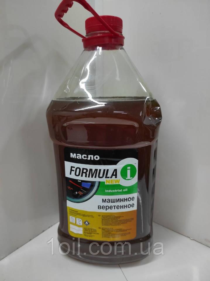 Масло Formula индустриальное И-20 (веретенка) 5л