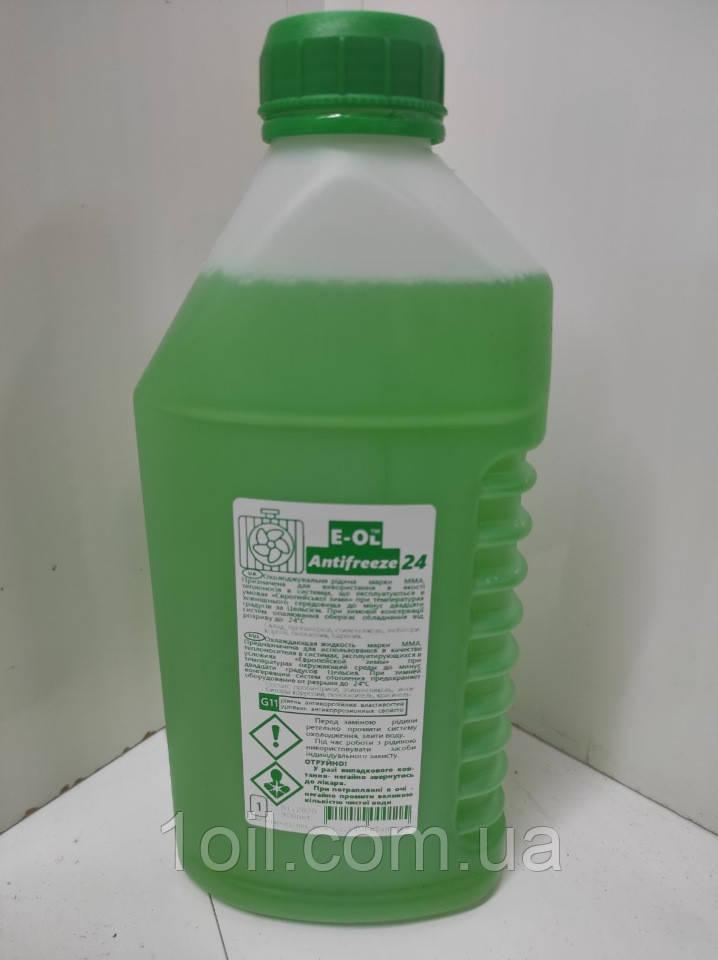 Охолоджуюча рідина Тосол EOL 24 (зелений) 1кг