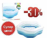 Детские бассейны Детский надувной бассейн Intex от 3 лет Морская звезда, 185 х 53 см